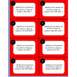 Cartes à questions mathématiques (1-48)