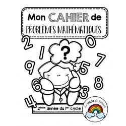 Cahier de problèmes mathématiques pour la 2e année