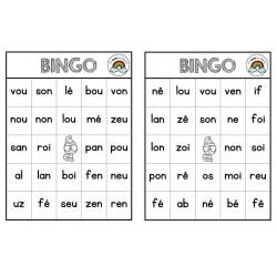 Bingo de syllabes