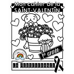 Cahier de Saint-Valentin (1re année)