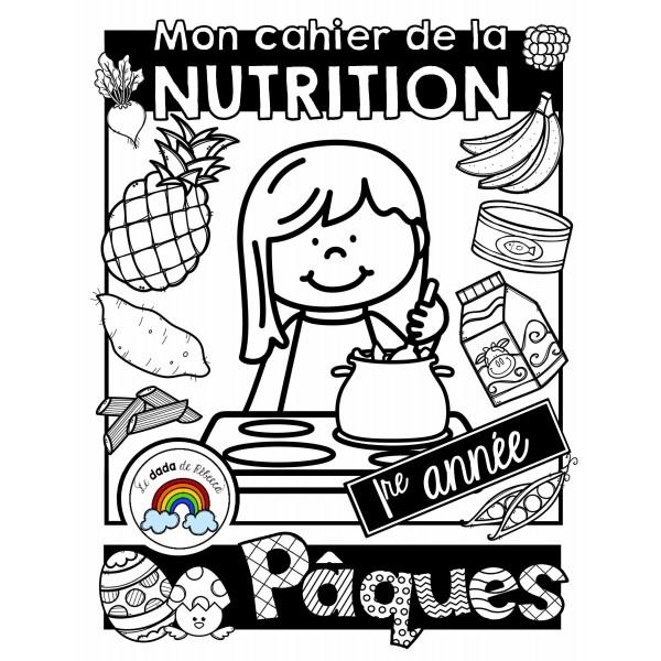 Cahier de nutrition et de Pâques (mois de mars)