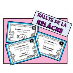 Rallye de la relâche (1re année)