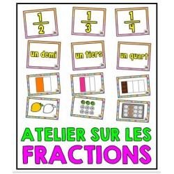 Atelier sur les fractions