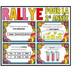 Rallye de fin d'année (2e année)