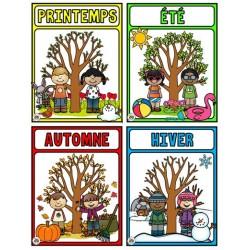 Affiches des saisons