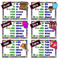 Affiches des verbes du 1er cycle