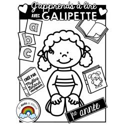 Cahier de syllabation « Galipette »