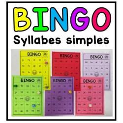 Bingo de syllabes simples