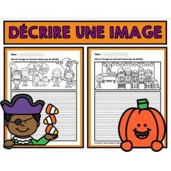 Description d'images d'Halloween