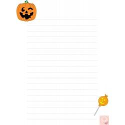 Feuilles écriture Halloween