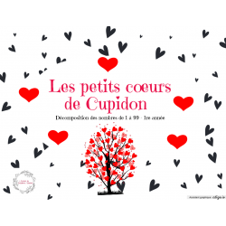 Les petits cœurs de Cupidon