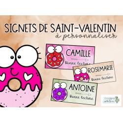 Signets de la Saint-Valentin