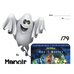 Manoir hanté - film - questionnaire - Halloween