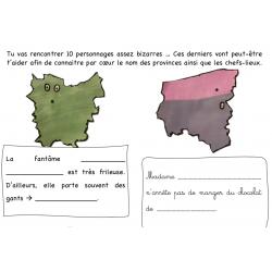 2 ateliers sur provinces Belgique