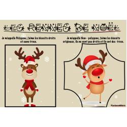 Polygone / non- polygone --> Noël