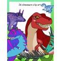 26 clip art de dinosaures