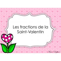 Les fractions de la Saint-Valentin