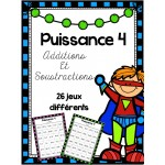 Puissance 4 - Additions et soustractions