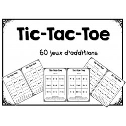 Tic-Tac-Toe des additions