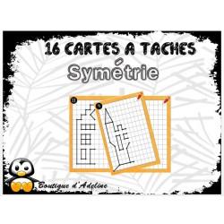 cartes à tâche: symétrie 1