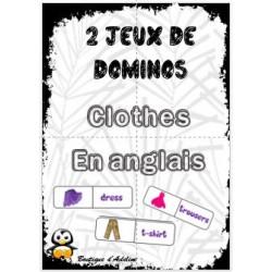 dominos anglais les vêtements