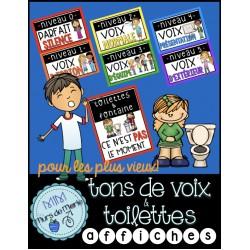 """affiches """"Débit de voix"""" 3e cycle"""