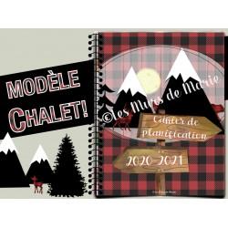 """Planificateur 20-21 PDF """"Chalet"""""""