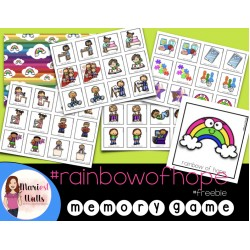 Memory Game #rainbowofhope