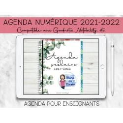 Planificateur NUMÉRIQUE 2021-2022