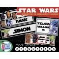 Etiquettes bureaux - casiers Stars Wars