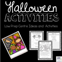 Halloween Centre Ideas and Activities