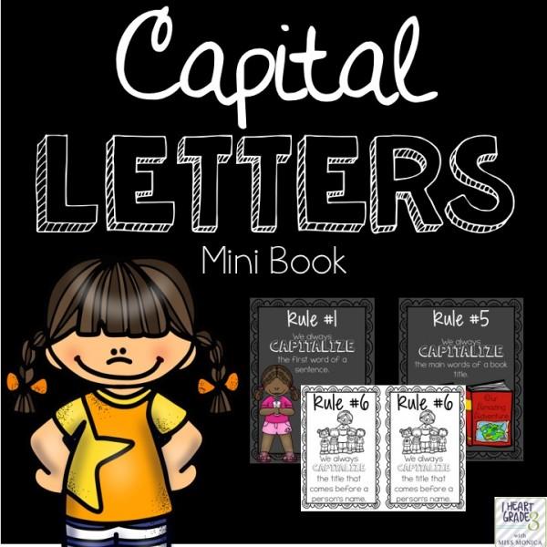 Capital Letters Mini-Book