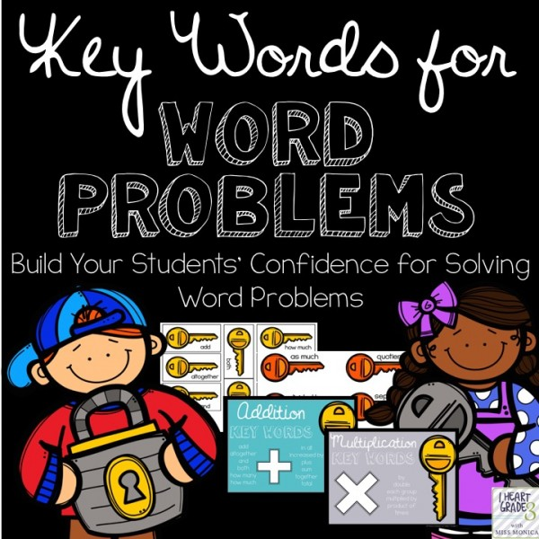 Key Words for Word Problems