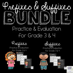 Prefixes and Suffixes BUNDLE