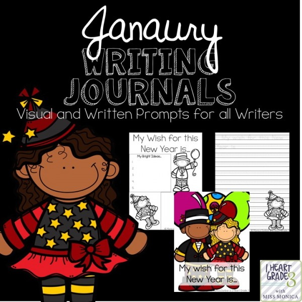 January Writing Journals