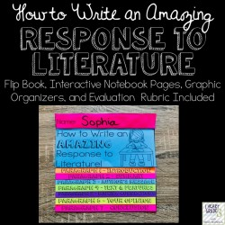 Response to Literature Tool Kit