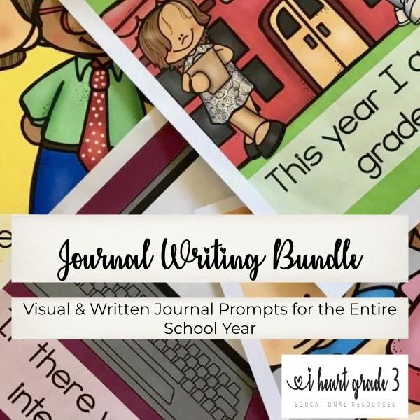 Writing Journals Year Long BUNDLE