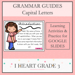 Grammar Guides - Capital Letters