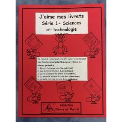 J'aime mes livrets- Série 1- Sciences