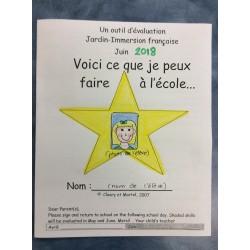 Un outil d'évaluation- Jardin/1ère- Livret  2