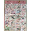 Des chansons pour le 100e jour d'école