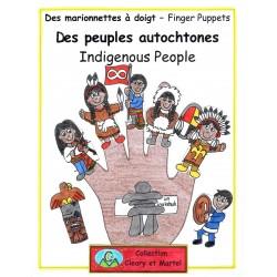Des peuples autochtones - Marionnettes à doigt