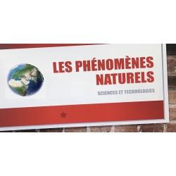 Les phénomènes naturels