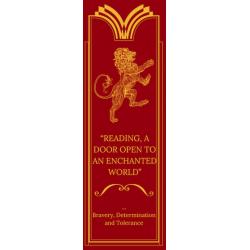 Harry Potter Bookmarks - Gryffindor