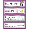 Vocabulaire de mathématiques - 152 mots