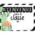 Bienvenue dans... Thème Cactus
