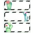 """Étiquettes panier """"Cactus"""""""