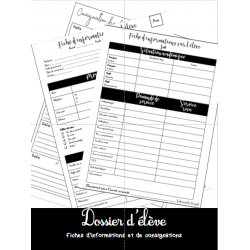 Dossier d'élève