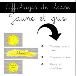 Affichages de classe