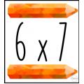 Cherche et trouve - Les multiplications
